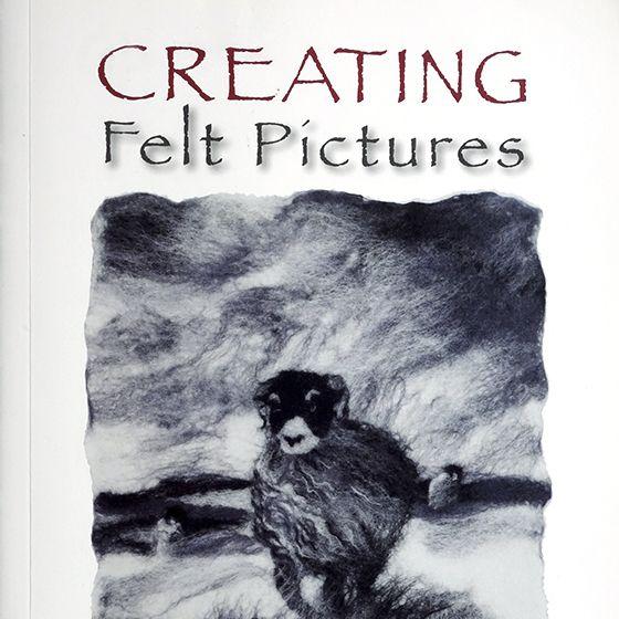 【英國書】Creating Felt Pictures