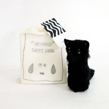 【帶我回家.犬系列】小黑長毛犬
