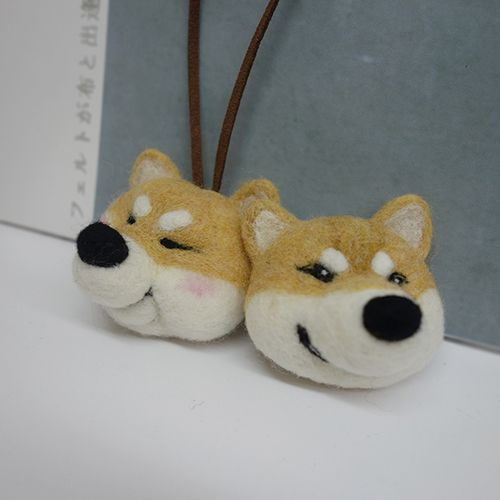 3.10【雕塑課】針氈 / 犬的日常
