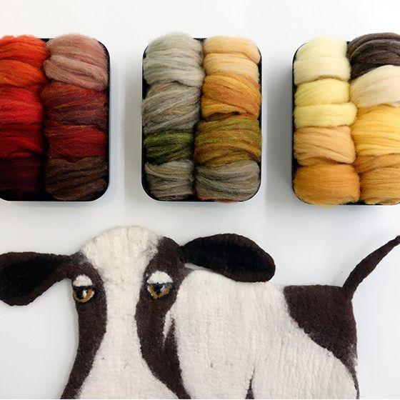 動物系羊毛 / 全套72色