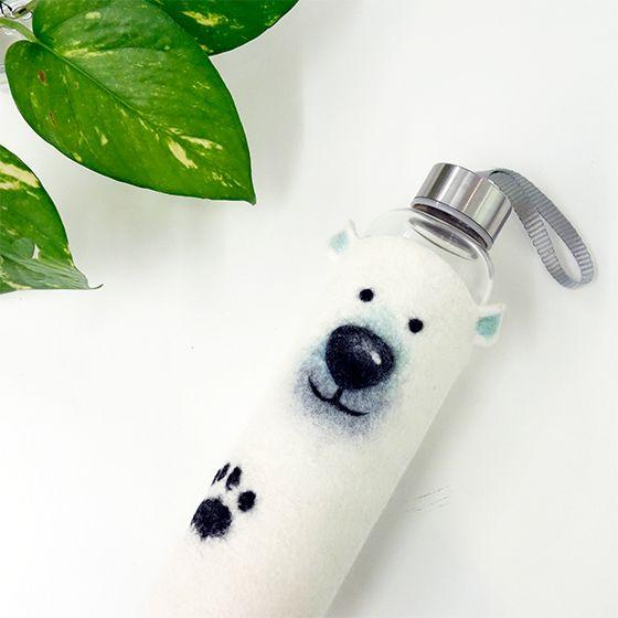 8 . 17【極地系列】濕氈 / 北極熊保冰套